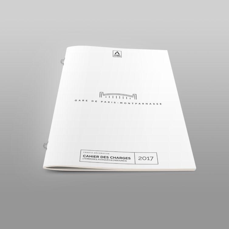 Brochure – 2 Points Métal avec points boucles