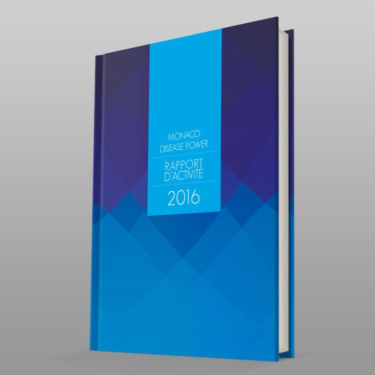 Catalogue avec couverture contrecollé rembordé