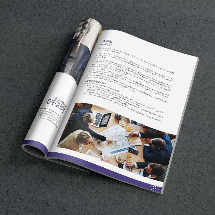 Catalogue avec couverture souple